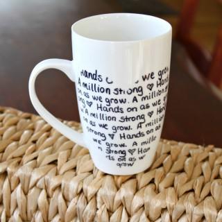 contact paper mug
