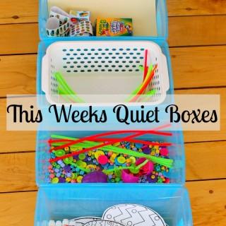 quiet boxes activities for kids