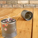 The Classic Tin Can Telephone {A Photo on Friday}