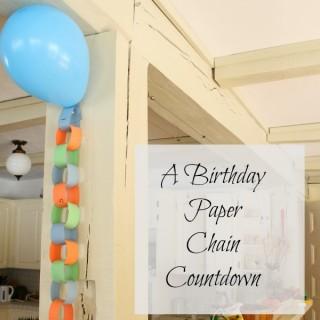birthday chain title
