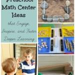 Remarkable Preschool Math Center Ideas