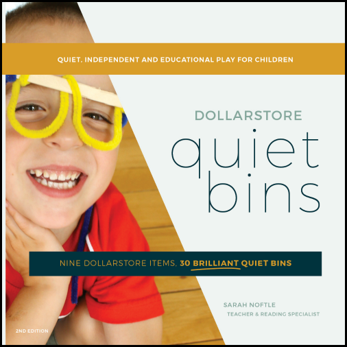 An entire year of quiet time activites for kids! These bins are educational and so easy to set up.