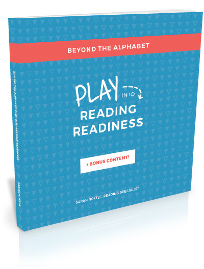 Play into Reading Readiness! Get chidlren ready to read with these 7 steps!
