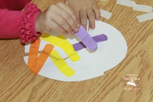 Nursery rhyme crafts for toddlers - humpty dumpty egg puzzle