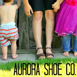 aurora shoe bare toes