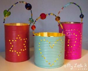 Gifts kids can make - lanterns