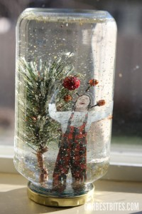 Gifts kids can make - snowglobes