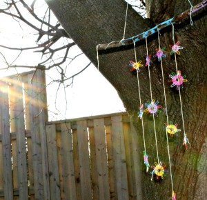 Gifts kids can make - windchime