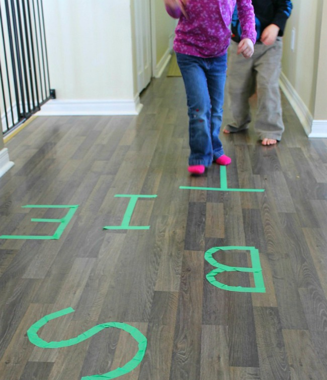 Such a fun activity for preschoolers to help them practice their letters!