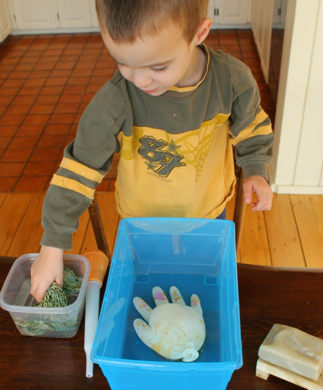 science lesson for kindergarten washing hands!