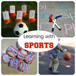 Sports Themed Learning Games!