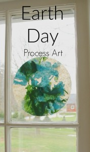 An Earth Day Craft for Preschoolers (and Kindergartners and Grade eights ….)