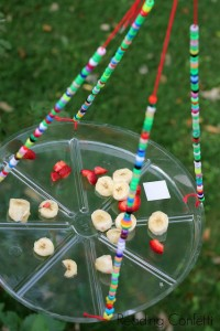 Garden fun - homemade butterfly feeder