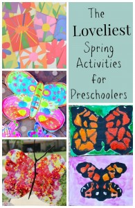 The Loveliest Spring Activities for Preschoolers!