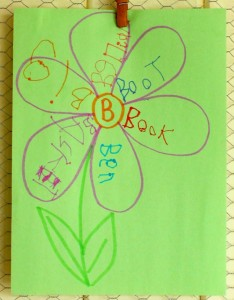 Letter Flowers