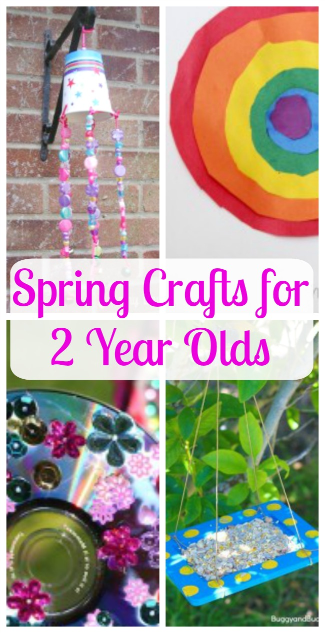 spring crafts for 2 year olds how wee learn