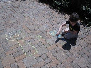 Games to play outside - angry bird inspired water balloon game