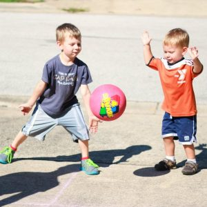 Games to play outside - four square