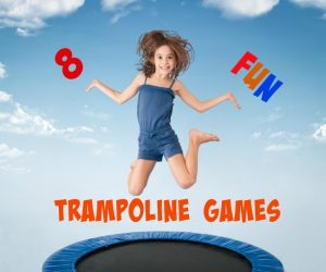Games to play outside - trampoline games