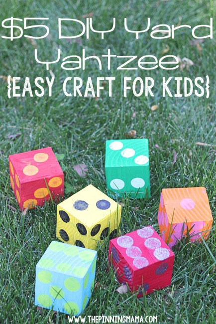 games to play outside yard yahtzee