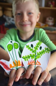 Puppet making - design your own finger puppets