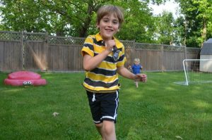 Summer games to play outside - tag