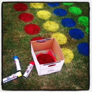 Summer games to play outside - yawn twister