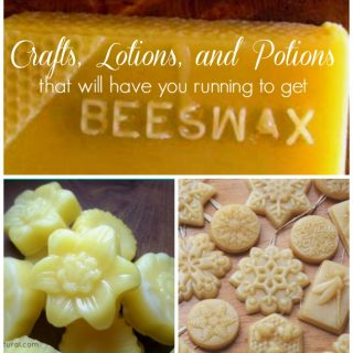 There are so many uses for beeswax. These crafts, lotions, soaps, and potions using beeswax are awesome!