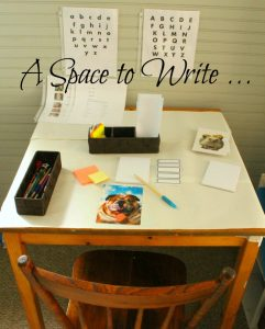 A space to write