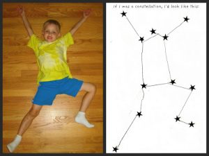 Constellations for kids - I am a constellation
