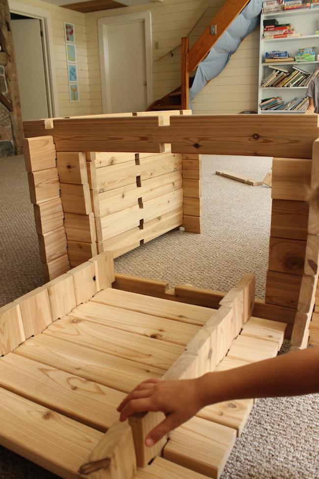 Wood Building Blocks ~ Diy wooden building blocks how wee learn