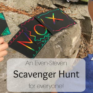 An Even-Steven Name Scavenger Hunt for Everyone