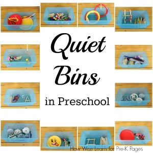 How to use Quiet Bins in the Classroom