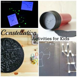 Great constellation activities for kids. Fun ways to explore space at home!