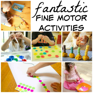 Fantastic fine motor activities for preschoolers and toddlers! These are great for strenthening little hands