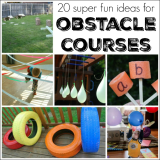 These are the best obstacle course ideas for kids!