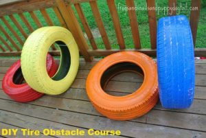 obstacle-course-ideas-colorful-tires