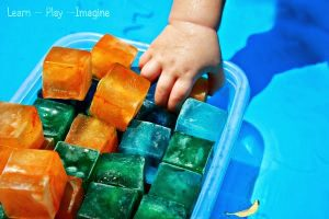 sensory-activities-for-toddlers-colorful-ice
