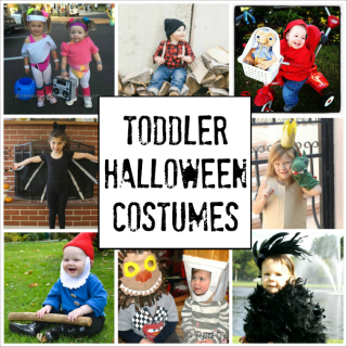 These are the CUTEST Halloween costumes for toddlers! I think the lumberjack one is my favourite!
