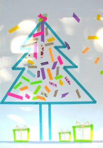 christmas-art-for-kids-washi-tape-art