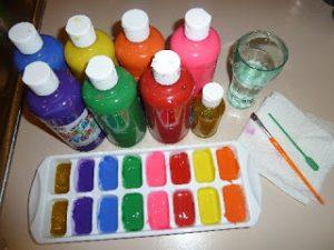 finger-painting-ideas-frozen-paint