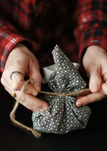 making-potpourri-with-kids-herbal-sachets