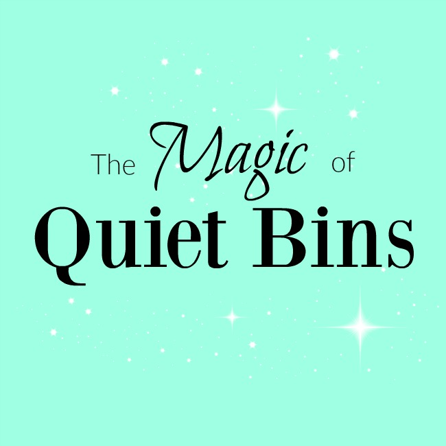 Quiet time activities for preschoolers!