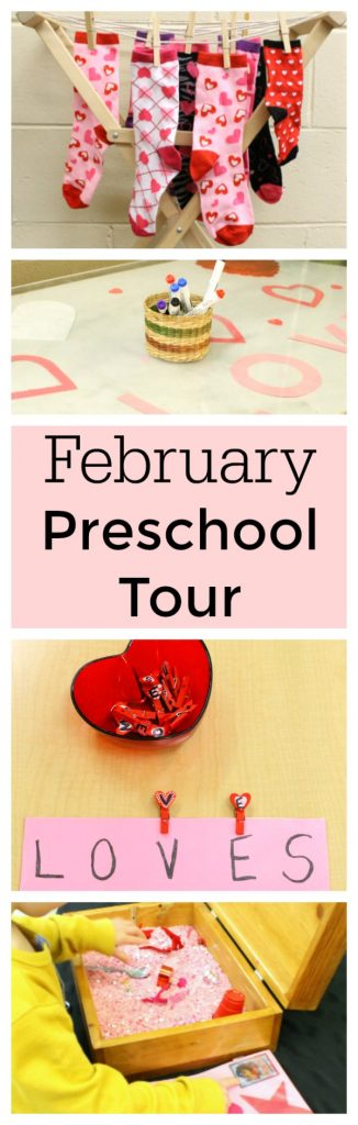 Activities for preschoolers february classroom tour for Preschool crafts for february