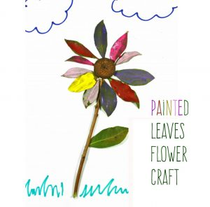 Spring Nature Art for kids