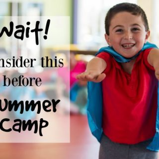 I never would have thought of these things before choosing a summer camp! SO glad I did.
