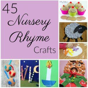 45 Nursery Rhyme Crafts