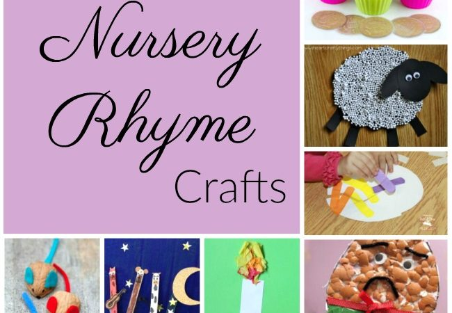 Adorable nursery rhyme crafts perfect for pairing with nursery rhyme stories in preschool and kindergarten!