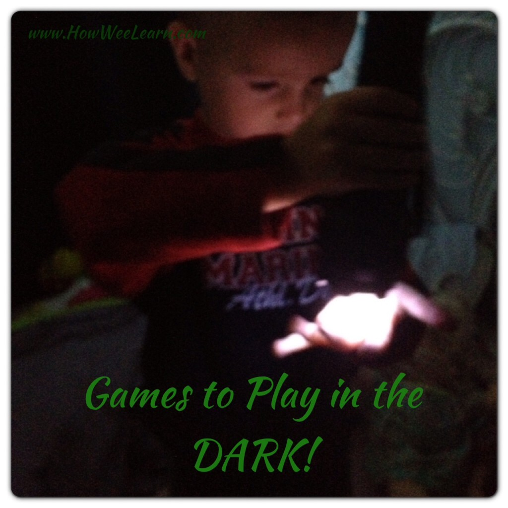 exploring the 5 senses in the dark