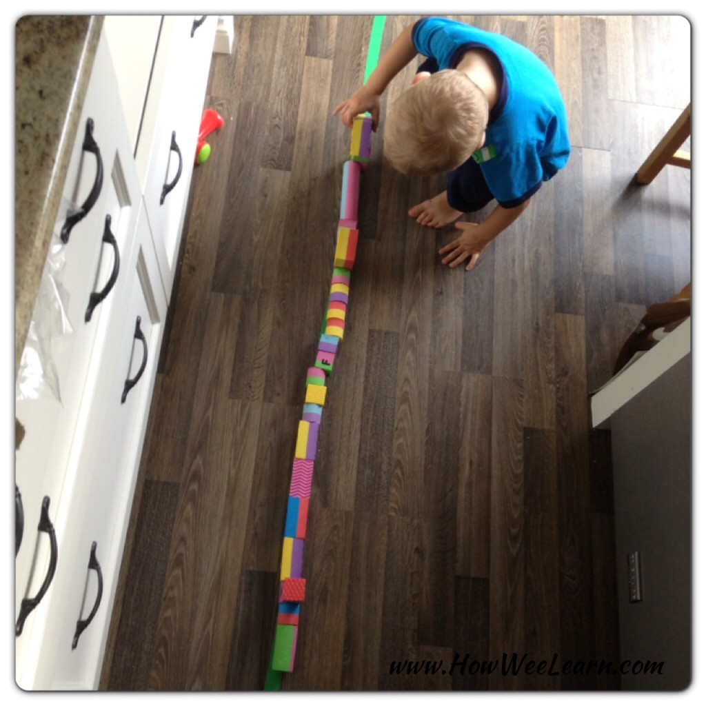 building bridges for toy trucks